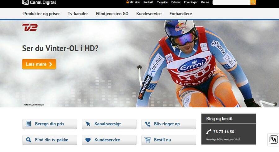 Canal Digital i Danmark har mistet 10.000 kunder på et år.