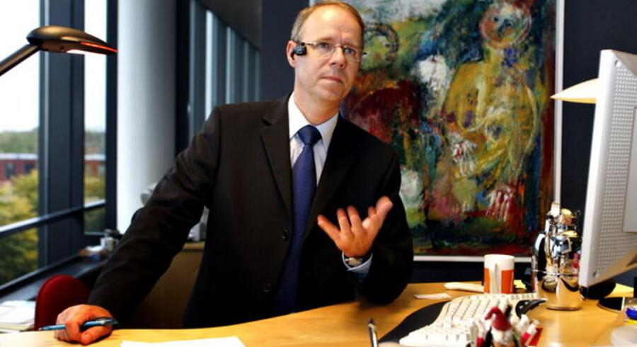 Telia-direktør Jesper Brøckner ser lys forude for den danske IT- og telebranche, hvis fælles forening runder ti år i år. Foto: Jan Jørgensen, Scanpix