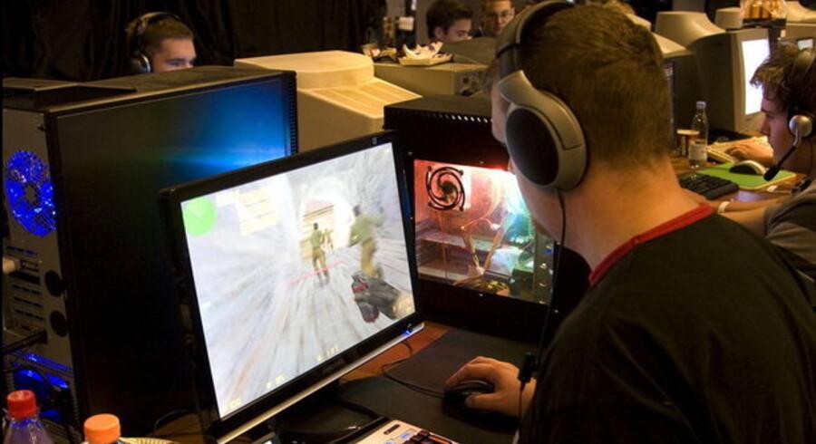 Der bliver ved med at være et kæmpe marked for computerspil, fastslår Electronic Arts (EA). Foto: Torben Christensen/Scanpix