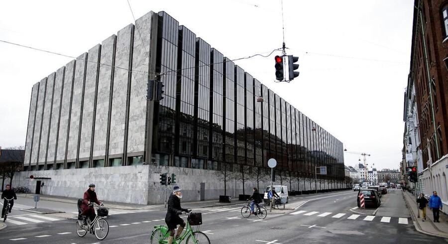 Nationalbanken udefra onsdag den 14. marts 2018.