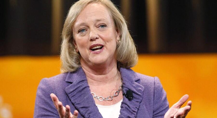 Meg Whitman, tidligere topchef for internetauktionshuset eBay, får en hård start som ny topchef i Hewlett-Packard (HP). Foto: Mario Antuoni, Reuters/Scanpix