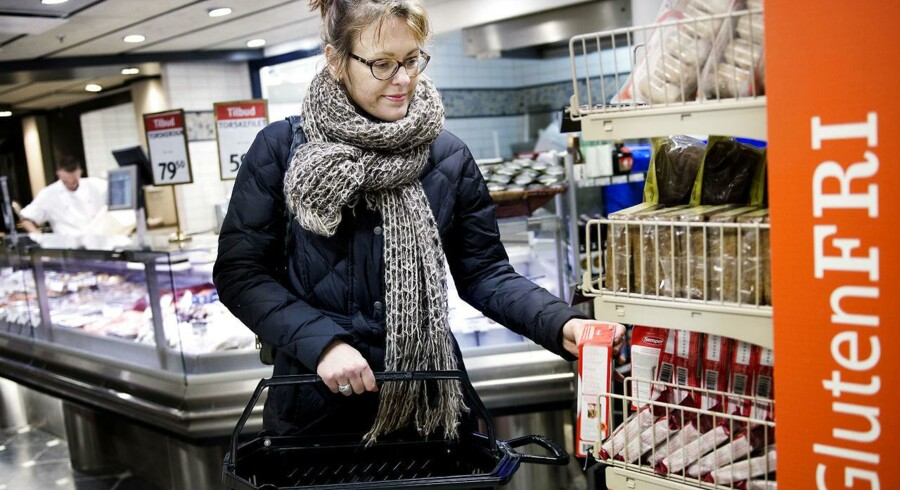 Pia Lundahl handler glutenfri varer i SuperBest og i specialbutikker. Det er hun nødt til, da hun har cøliaki, og mad med gluten ødelægger hendes indre.