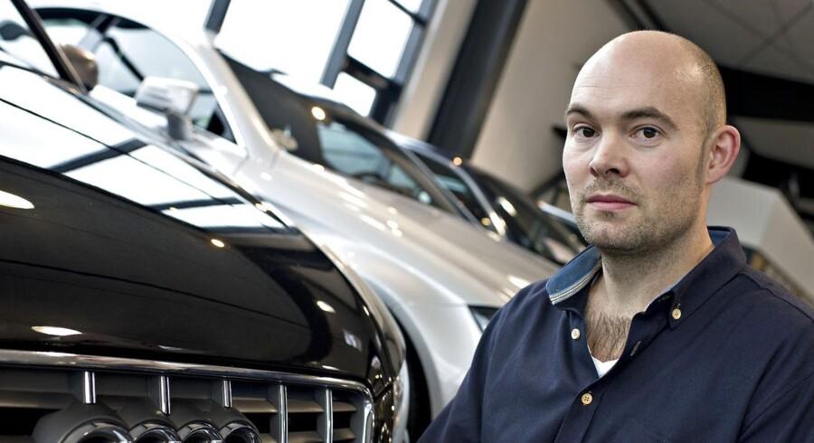 Direktør og stifter i Autouncle, Johan Frederik Schjødt, har taget kampen op mod eBay.