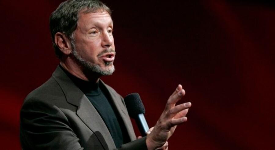 Oracle-stifter og -topchef Larry Ellison vil gerne lave mini-PCer, nu hvor han har købt konkurrenten Sun.