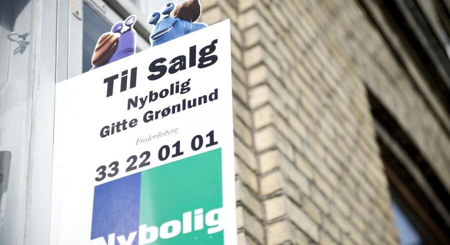 Huse og lejligheder til salg fotograferet i København tirsdag den 10. februar. Nybolig