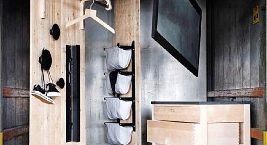Nøglen til et hjem uden rod er masser af opbevaringsplads. Her er det fine opbevaringsløsninger fra svenske Norrgavel.