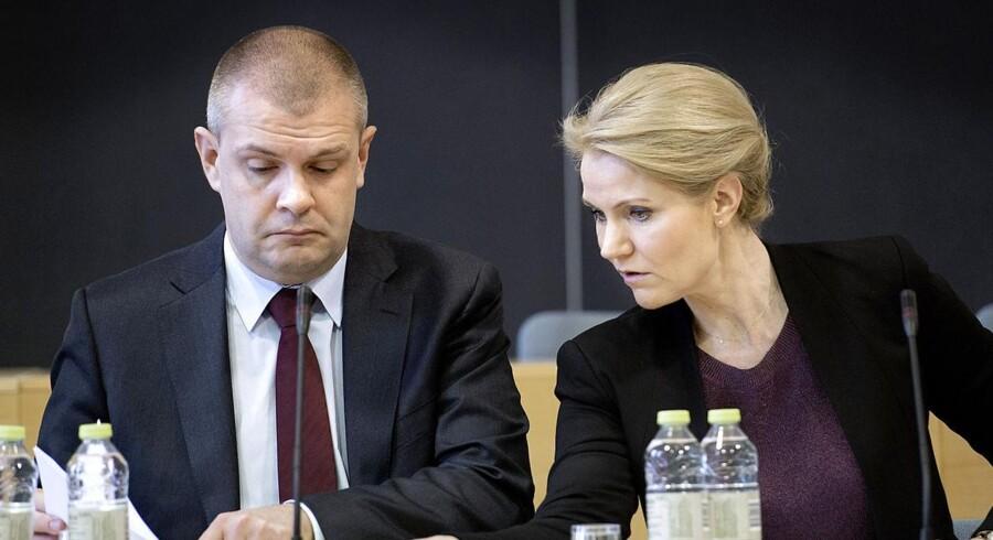Statsminister Helle Thorning-Schmidt (S) og finansminister Bjarne Corydon (S).