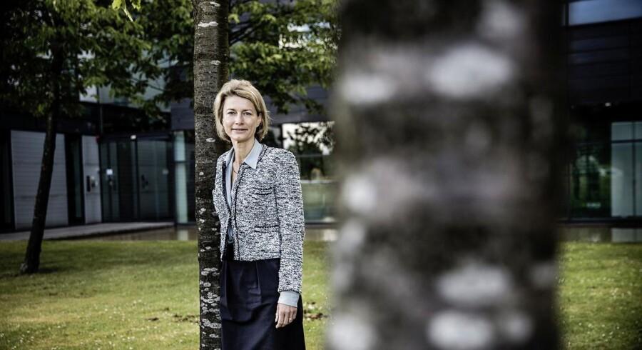 KMDs topchef siden april, Eva Berneke, køber sig bedre fodfæste i den statslige sektor og er klar til nye opkøb. Arkivfoto: Thomas Lekfeldt, Scanpix
