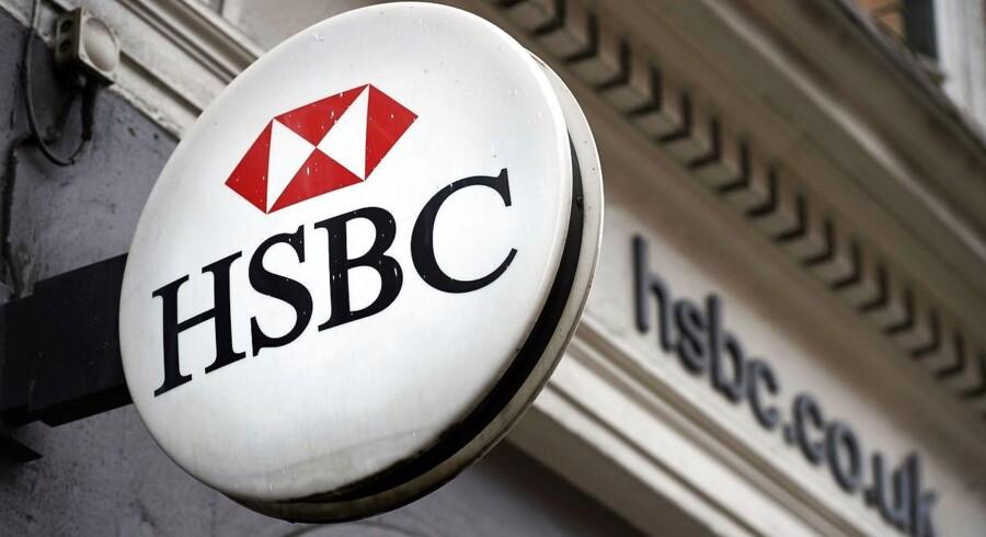 Arkivfoto: HSBC Logo