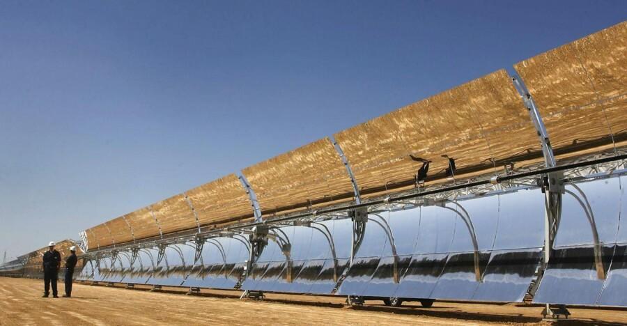 Energy fra sol er typisk støttet med ca. 100 euro per megawatttime (MWt). Arkivfoto: Nacho Doce/Reuters