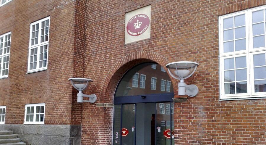 ARKIVFOTO 2009 af Retten i Næstved. Den dømte har besluttet at anke dommen til frifindelse, og retten har udstrakt navneforbuddet. (Foto: Claus Bech Andersen/Scanpix 2015)