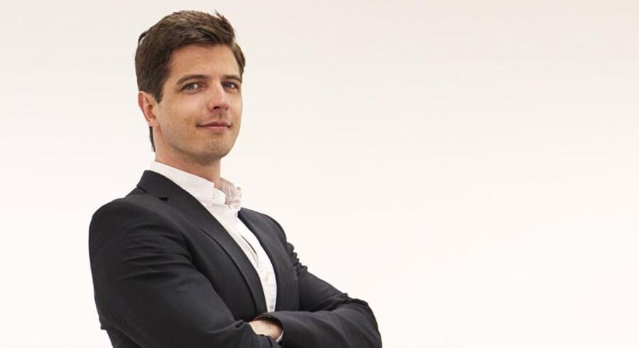 Nicholas Meilstrup, direktør hos Marthoni, står bag den nye indkøbsportal »MB2B,« der formidler kontakt mellem danske tøjbutikker og grossister.