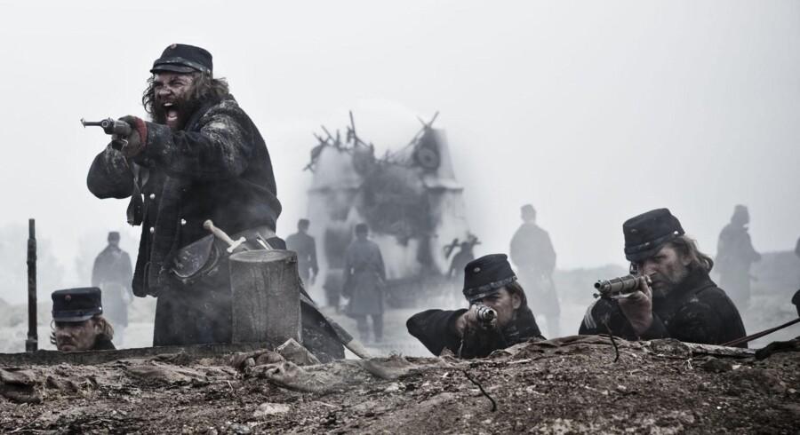 Foto fra den danskproducerede TV-serie »1864«.