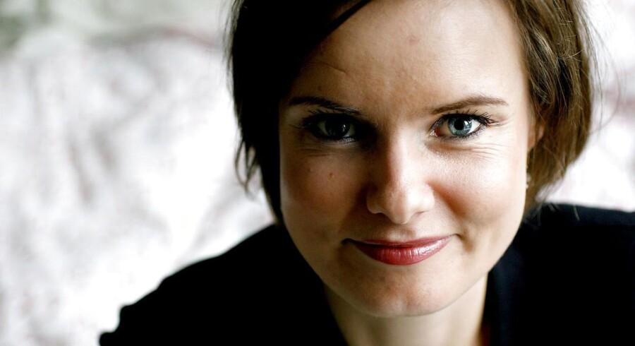 Feminist, skribent og forfatter Leonora Christina Skov.