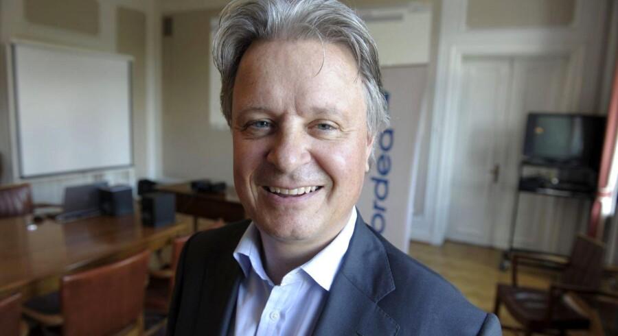 Casper von Koskull (54) kom til Nordea i 2010, og skal nu være koncerndirektør,