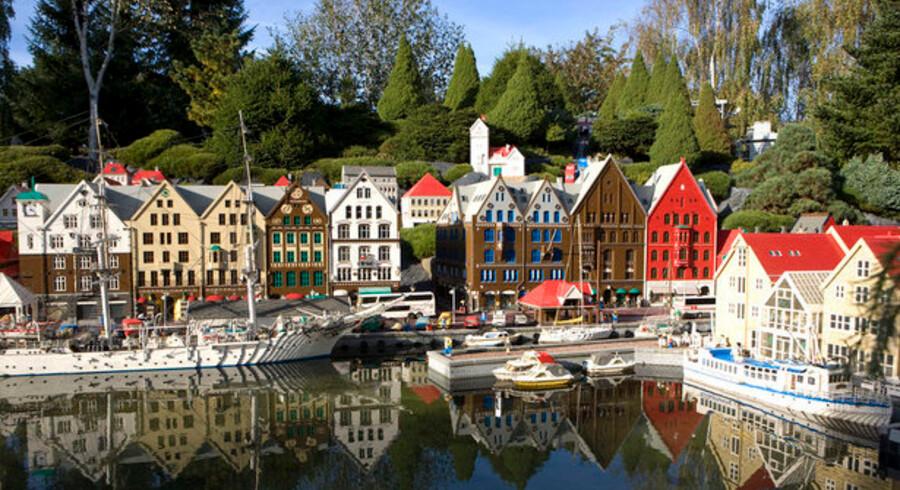 Legoland er blandt gidslerne i striden om de danske netadresser. Foto: Jens Nørgaard Larsen, Scanpix