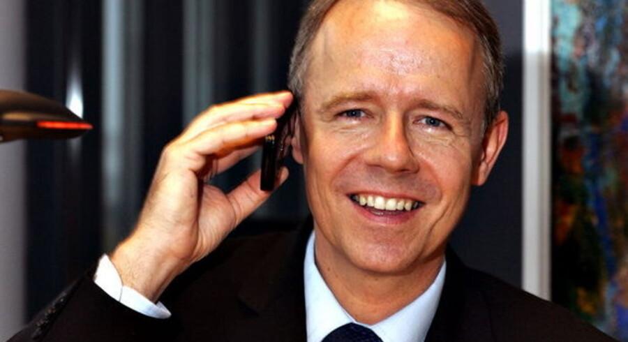 Et regnskab, der viser en bedre bundlinje, får nu Telia-direktør Jesper Brøckner til at erklære sig for en glad mand. Og det på trods af faldende omsætning.