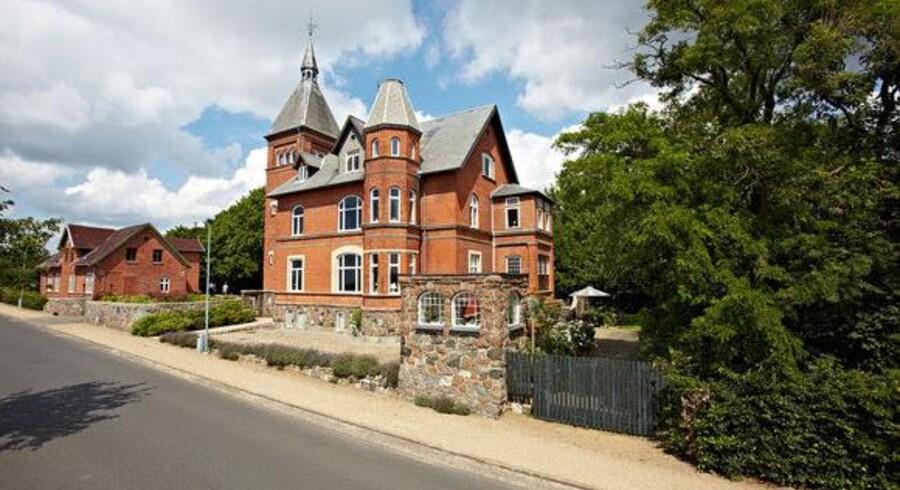 Villaen i Svendborg blev udbudt til salg i marts i år. Foto: Thobo-Carlsen & Partnere A/S.
