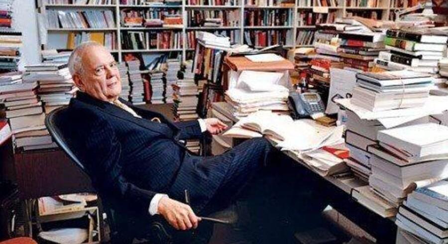 Robert Silvers, redaktør gennem hele The New York Review of Books' 50 år lange eksistens. Foto. PR