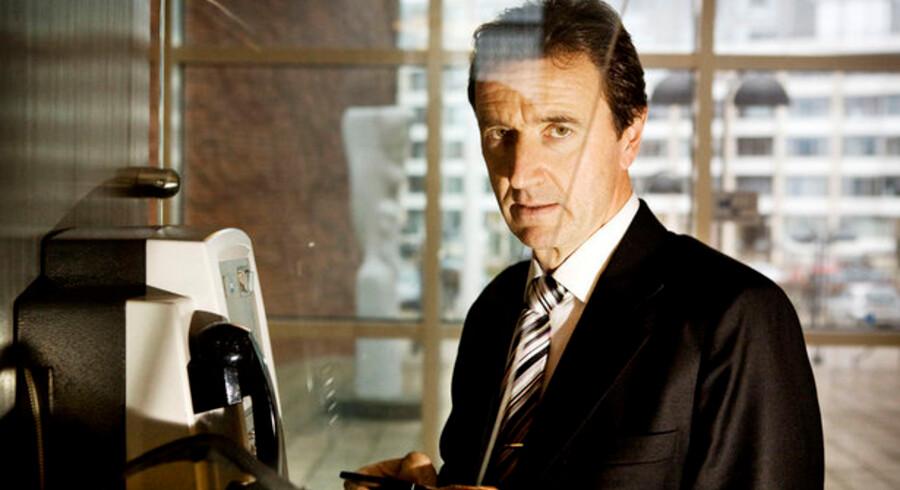 Vagn Sørensen, bestyrelsesformand i Danmarks største teleselskab TDC, bliver nu også bestyrelsesformand for KMD. Foto: Michael Bothager