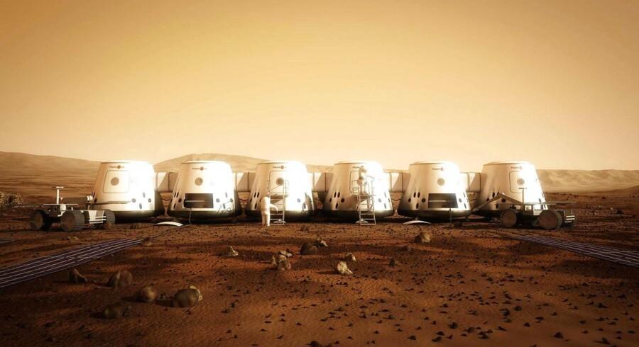 Mars One-missionen arbejder mod at slå NASA i kampen om at få mennesker til Mars først. Her er Mars Ones eget bud på, hvordan Mars-boerne kommer til at bo.