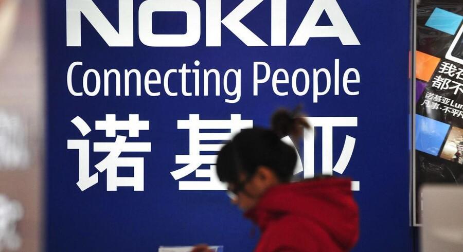 Nokias aftale med Kinas største mobilselskab vækker uro blandt Apple-investorer. Foto: Sheng Li, Reuters/Scanpix