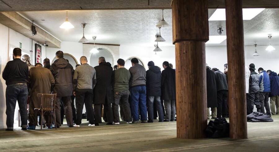 Grimhøjmoskeen i Aarhus er blevet stærkt kritiseret for de holdninger, som bl.a. formanden har givet udtryk for, og fordi mange unge, der er rejst ud for at kæmpe for IS, har haft deres gang i moskeen, men Aarhus Kommune og Østjyllands Politi roser moskeen for deres arbejde, der har minimeret antallet af unge, der tager i krig.