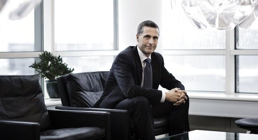 Morten Felding, direktør i Atea, siger, at virksomheden vil samarbejde fuldt og fast med politiet.