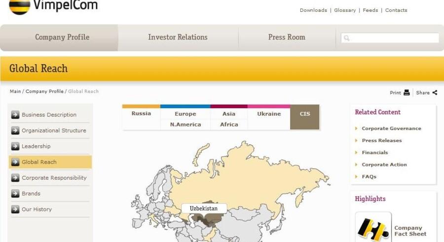 Norske Telenor er storejer i mobilselskabet Vimpelcom, som også arbejder i Usbekistan og købte sin licens gennem samme selskab i Gibraltar, som har kostet Telia topledelsen.