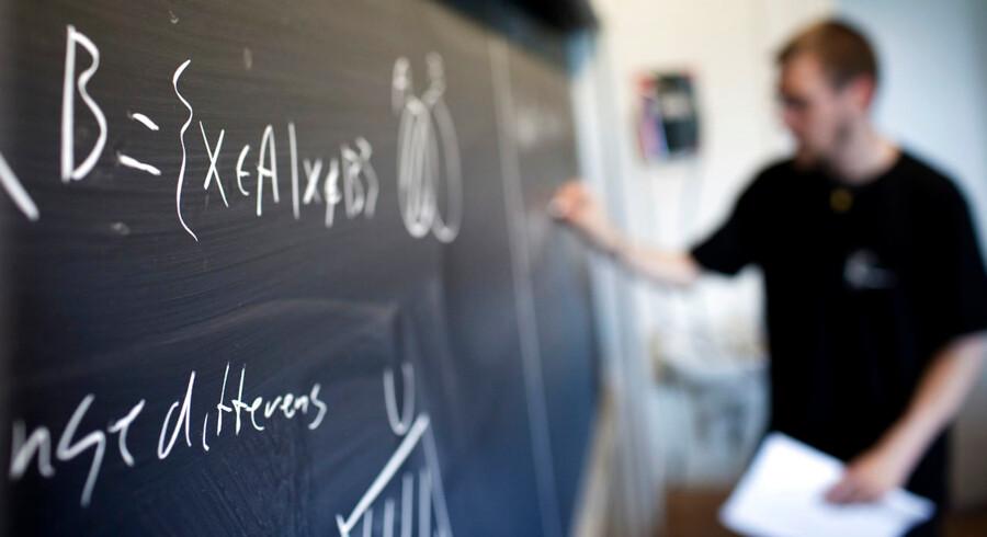 Det er blevet svært at finde uddannede lærere. Arkivfoto: Jens Nørgaard Larsen