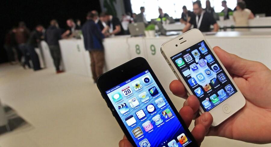Apples salg af iPhone overrasker Wall Street.
