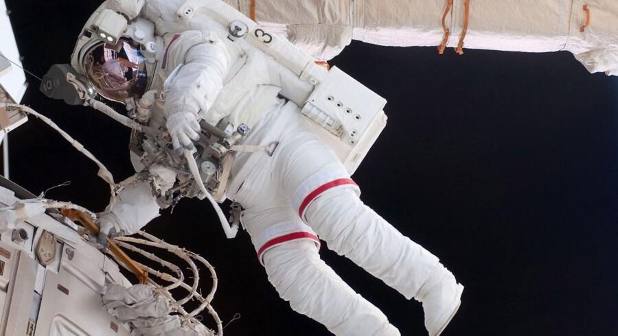 Efter en hård rumvandring kan en astronaut nok få brug for en nærende energidrik - fremstillet af astronauternes egne kropsvæsker.