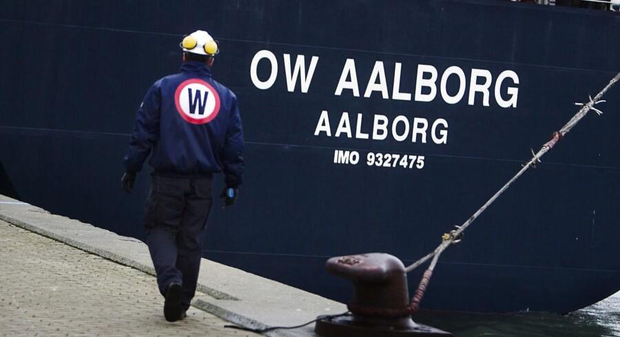 Det kan blive vanskeligt at indhente erstatning fra det hedengangne OW Bunker for rederier, hvis kontrakterne har indeholdt bestemte amerikanske juridiske klausuler. (Foto: Kasper Palsnov/Scanpix 2014)