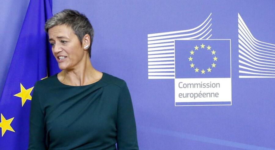 »Det vil ikke være en god brug af skatteydernes penge at holde Estonian Air i markedet kunstigt. Det vil heller ikke være fair over for konkurrenterne, der ville være nødt til at konkurrere uden samme støtte,« siger Margrethe Vestager.