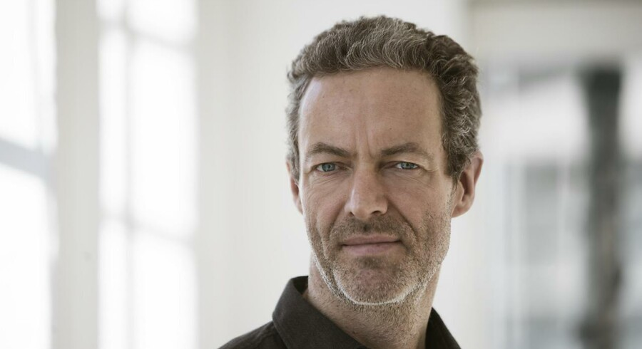 Komponist Jørgen Lauritsen fylder 50 år 9. august. Foto: Per Morten Abrahamsen