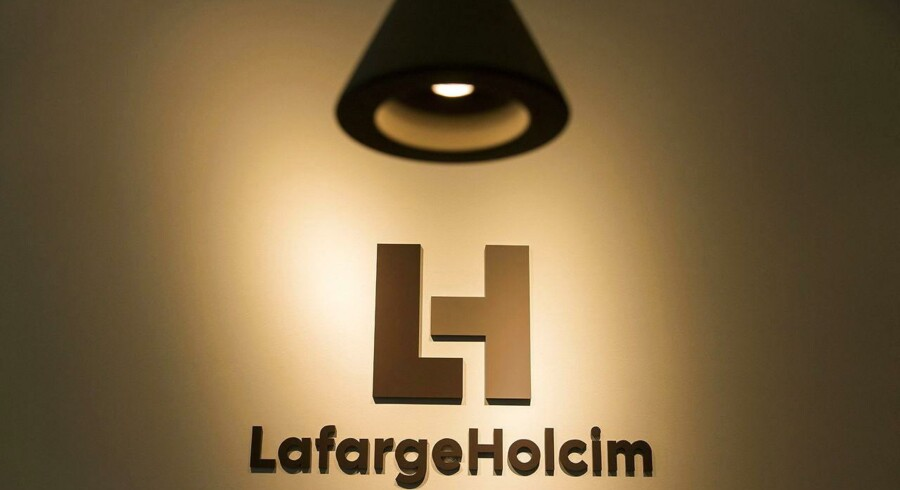 Arkivfoto. Den fransk-schweiziske cementkæmpe Lafargeholcim fastholder de overordnede forventninger efter et tredje kvartal, der indtjeningsmæssigt flugtede fint med forventningerne i analytikerkorpset.