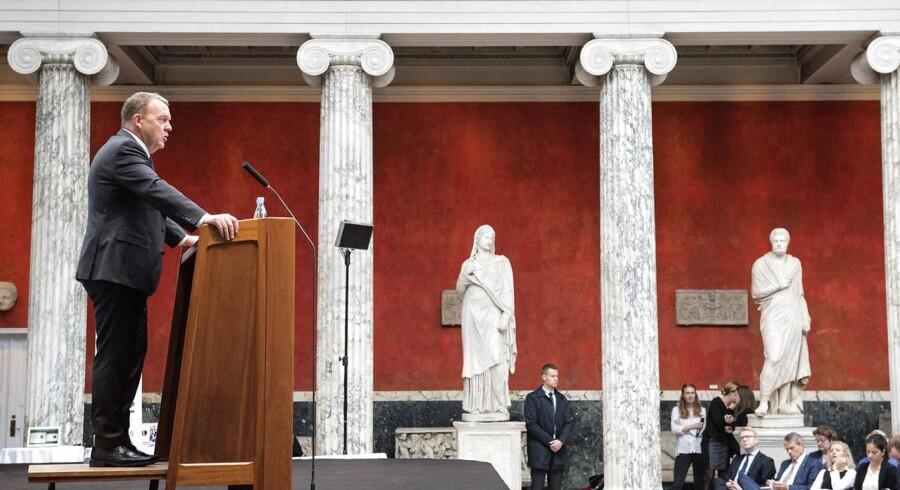 Tænketanken EUROPA holdt onsdag årsmøde på Ny Carlsberg Glyptotek. Statsminister Lars Løkke Rasmussen (V) var hovedtaler.