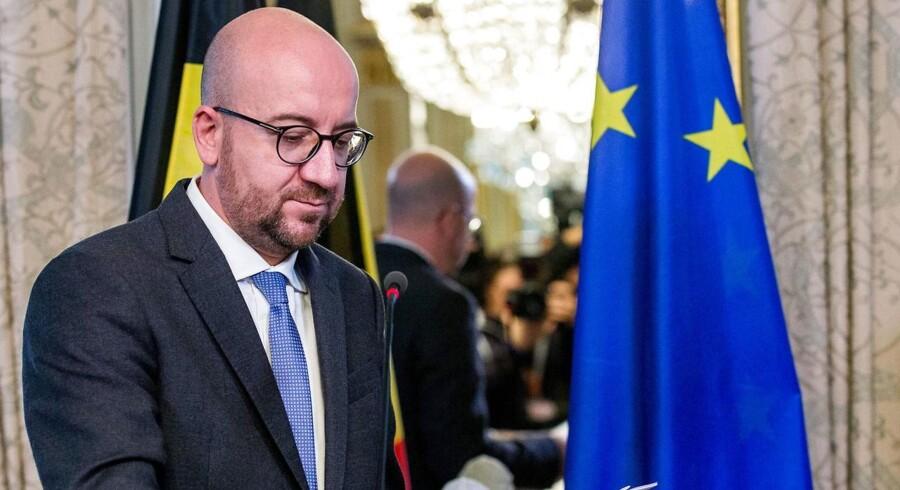 Belgiens premierminister, Charles Michel, har kikset i et nyt forsøg på at redde EU's handelsaftale med Canada.