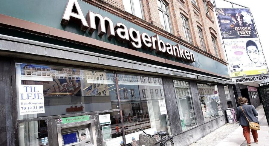 Amagerbanken handlede i lodret strid med sin egen kreditpolitik, siger Finansiel Stabilitet i retssag om store tab. (Foto: Liselotte Sabroe/Scanpix 2013)