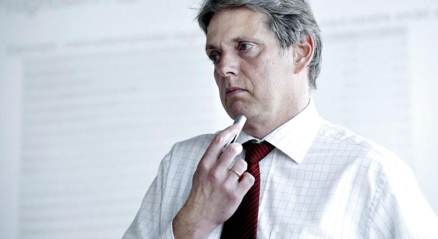 »Hvis udviklingen på arbejdsmarkedet fortsætter i det nuværende tempo, vil der inden for relativt kort tid blive mangel på arbejdskraft,« siger Helge J. Pedersen, der er cheføkonom hos storbanken Nordea.