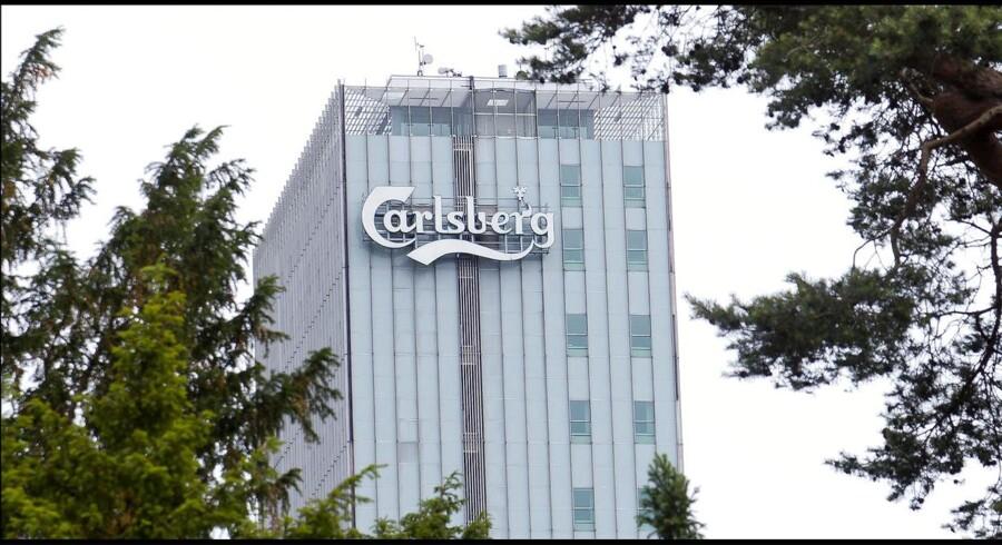 Carlsbergs gamle bryggeribygninger i Valby.