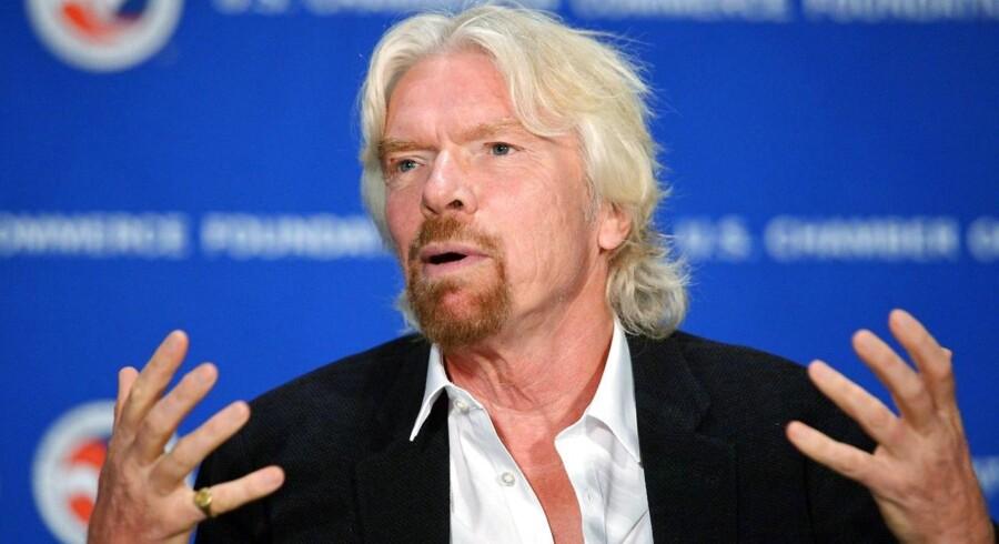 Grundlæggeren af Virgin Group, Richard Branson.