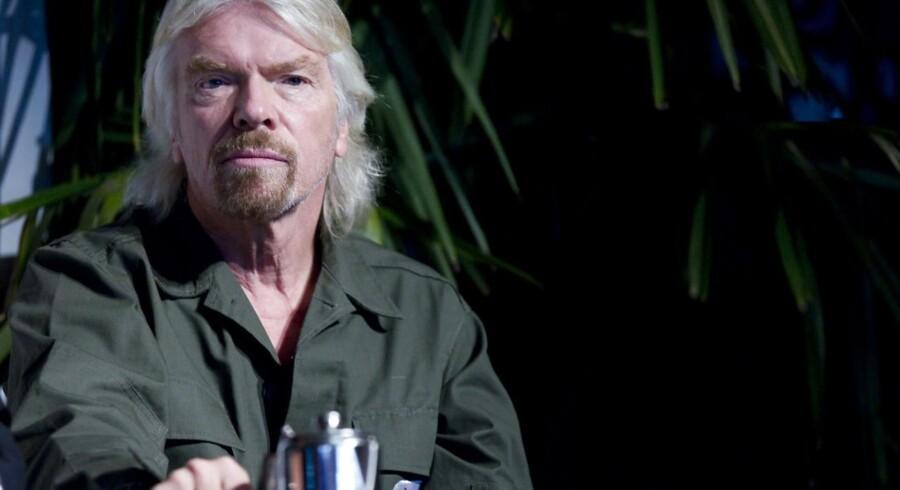 Superiværksætter og stifter af Virgin Group, Richard Branson.