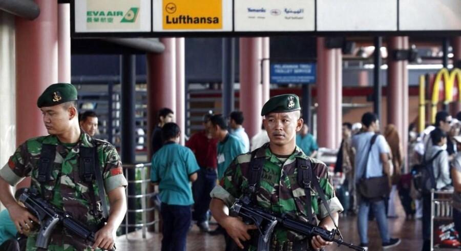 En 56-årig dansk mand er blevet fængslet, efter at han smuglede 1,48 kg metamfetamin ind i Indonesien via lufthavnen i Jakarta. Arkivfoto.