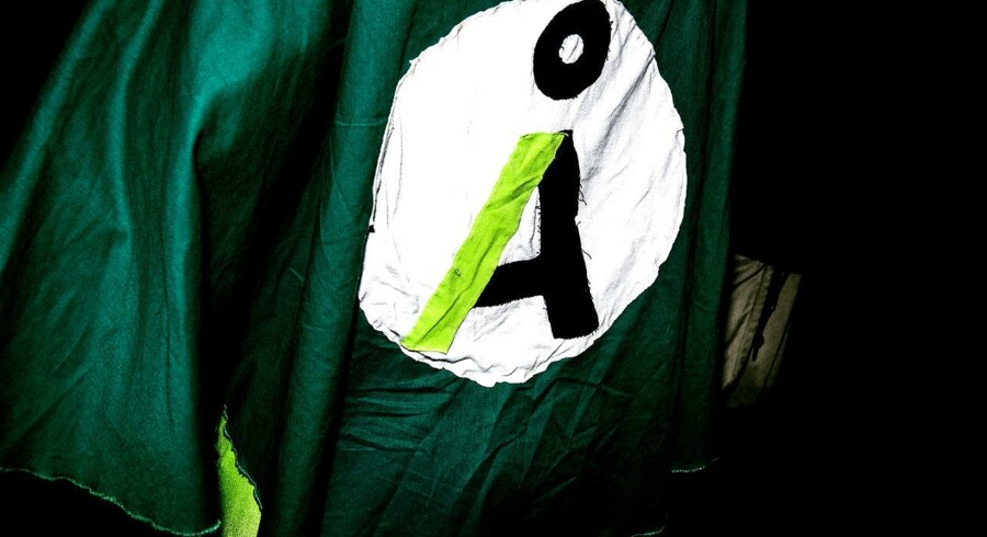 Alternativet holder valgfest på Papirøen i København på valgdagen, torsdag den 18. juni 2015.