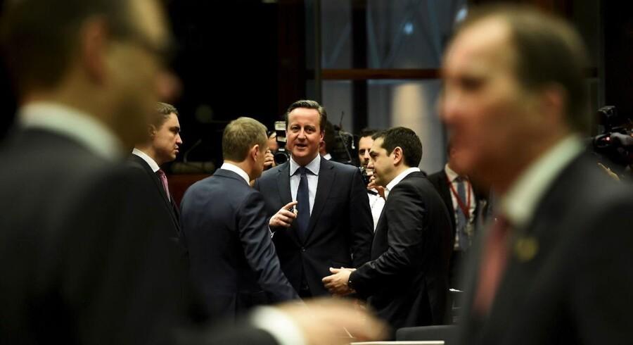 EU-præsident Donald Tusk ser gerne, at aftalen mellem EU og Storbritanien ligger klar fredag.