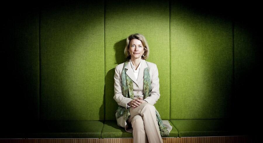 Eva Berneke, som tidligere i år forlod TDC for at blive topchef i KMD, ændrer nu på topledelsen. Arkivfoto: Bax Lindhardt, Scanpix