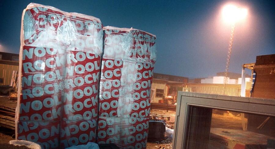 Stor omstrukturering i Rockwool koster 500 stillinger. ARKIVFOTO. // Tyve har hærget Ørestadens byggepladser.