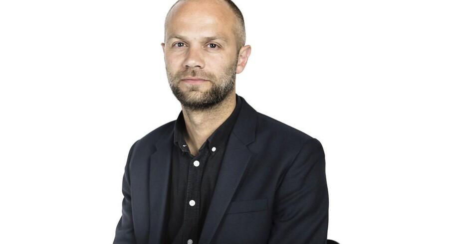 Erhvervsjournalist, Jesper Kongskov.