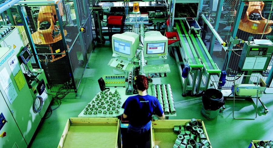 Grundfos har forpligtiget sig til ikke at udlede mere CO2 end i 2008, selv om produktionen vokser. PR-foto